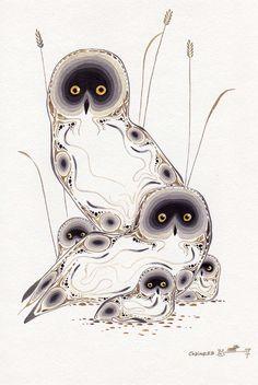 Eddy Cobiness - owl family