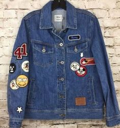 Shop Women's Coach Blue size Various Jean Jackets at a discounted price at Poshmark. Description: Coach Disney X Mickey Mouse Denim Jacket Limited Edition New with tags. Denim Jeans, Ck Jeans, Love Jeans, Denim Jacket Fashion, Denim Jacket Men, Popular Mens Jeans, Mickey Mouse Jacket, Coach Disney, Calvin Klein Jeans