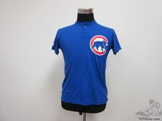Majestic Chicago Cubs Short sleeve Baseball Jersey Shirt sz Youth L Large MLB #Majestic #ChicagoCubs #tcpkickz