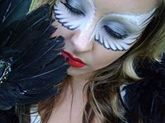 angel - face painting model