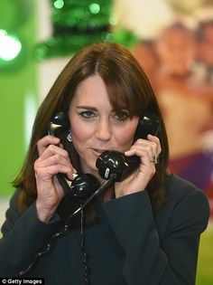 So many phones, so little time! Kate got competitive and decided to take on two calls at o...