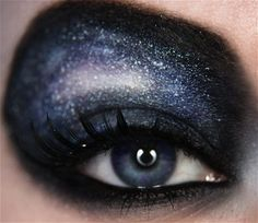 """Image Detail for - Galaxy"""" is another awesome eye makeup design from Jangsara ..."""