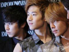Sungmin, Henry,Donghae by ~ilysmMin on deviantART