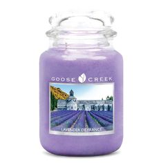 Lavender De France Goose Creek Candle Large Jar | New Classic Geuren Goose Creek…