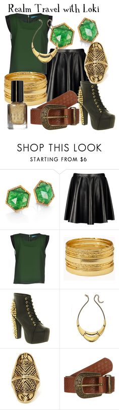 """Voyage with Loki"" by danacu ❤ liked on Polyvore featuring MIJA, Neil Barrett, Alice + Olivia, Forever 21, Jeffrey Campbell, Fiorelli, The Collection, Bobbi Brown Cosmetics, sorrynotsorry and Loki"
