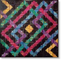 Planet Maze Quilt Kit