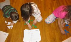 All sorts of tangram activities.