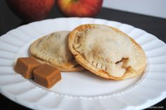 Caramel apple hand pies as a fall party treat