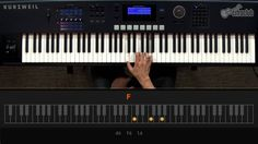 Como tocar teclado: tocando sua primeira música