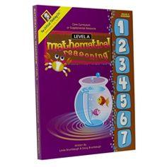 Mathematical Reasoning - Kindergarten $40