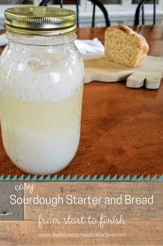 This sourdough starter and bread is so easy, yummy, and thrifty. Sourdough Starter Recipe With Potato Flakes, Sour Dough Bread Starter Recipe, Potato Flakes Recipe, Sourdough Bread Starter, Sourdough Recipes, Bread Recipes, Starter Recipes, Yeast Bread, Friendship Bread Recipe