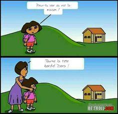 Peux-tu aider Dora ? - Be-troll - vidéos humour, actualité insolite