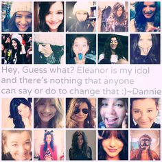@Eleanor Calder  you are such an inspiration not only to me but to so many others thank you for just being your beautiful and amazing self we love you Eleanor. ❤-lulu