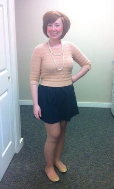 peach crop sweater