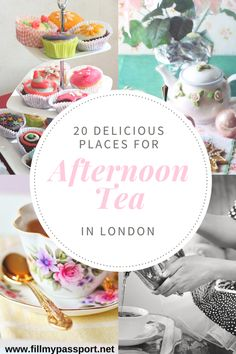20 Delicious Places for Afternoon tea