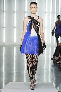 Rodarte Spring 2009 Ready-to-Wear Fashion Show - Anna Mariya Urazhevskaya