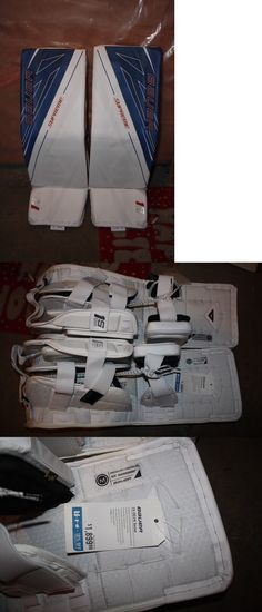 Leg Pads 79764: New Vaughn 7490I Ice Hockey Goalie Goal 30+