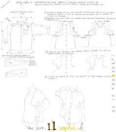 © by sophie b. Spring / Summer 17: PATRON EXCLUSIF TUTO PAS A PAS PHOTOS: Blouse Californie // D.I.Y. FREE EXCLUSIVE PATTERN.           This is the best