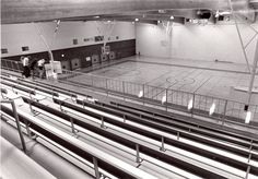 Athletics court in the Special Events Center