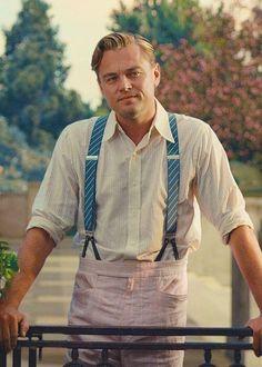 Leonardo Dicaprio como Jay Gatsy em The Great Gatsby (2013)