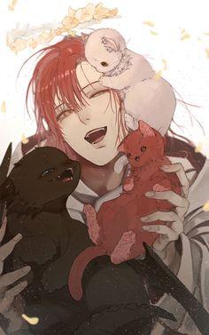 Red Hair Anime Guy, Hot Anime Boy, Cute Anime Guys, Anime Art Girl, Manga Art, Manhwa, Character Art, Character Design, Anime Boy Zeichnung