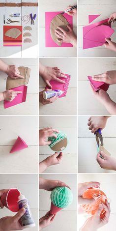 Blog My Little Party - Ideas e Inspiración para Fiestas: DIY: Guirnalda de Helados