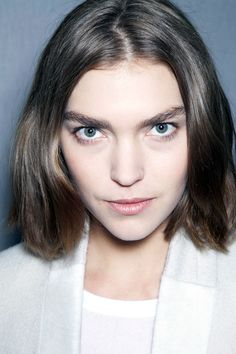 Backstage Beauty Paris Fashion Week Fall 2013 - Strong Brows
