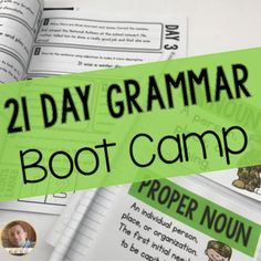 This program is meant to boost students grammar and writing skills, while also meeting multiple language standards. Students will participate in this program for 21 days, completing a daily review of skills.