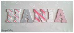 Literki dla HANI :) więcej na mojej stronie na fb -> DecoupageGallery zapraszam