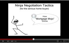 Fun 2 minute video - negotiation tips for serious home buyers - from www.DeanAndShanna.com