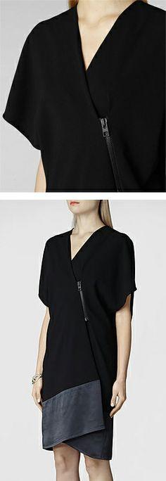 Alvar dress // AllSaints #designerwardrobe