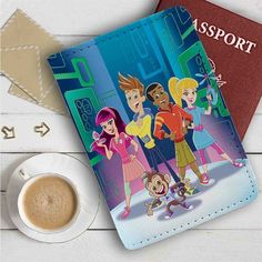 Fresh Beat Band of Spies Leather Passport Wallet Case Cover