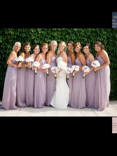 Bridesmaid dresses and colour