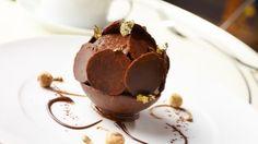 Chocolate-Hazelnut Tart from Piemonte, Ginger Gelato Eric Bertoia, Corporate Pastry Chef, Daniel Boulud