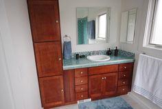 Remodeling Small Bathroom in Berkeley Bath Remodel, Small Bathroom, Vanity, Bathroom Remodeling, Small Shower Room, Dressing Tables, Powder Room, Vanity Set, Single Vanities