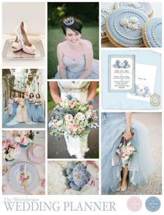 dusk blue wedding palette