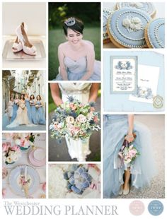 dusk blue wedding palette