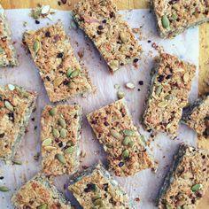 low sugar muesli bar recipe | Nourish By Ashlyn