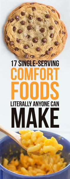 17 Single-Serving Comfort Foods Literally Anyone Can Make #comfortfood #easy #meals