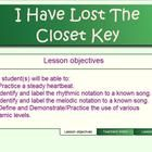 """This Smart Notebook lesson is an introduction to Solfa note """"re"""" and is appropriate for students in grade 2 and 3.  Students will be required to ke..."""