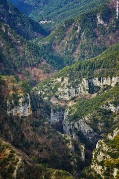 The Gorge and the Monastery - Olympus Mount, Pieria Copyright: Nikos Oikon