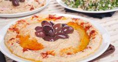 Tabouleh y hummus (Líbano)