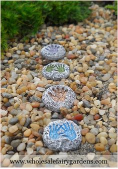 Palm Print Stepping Stones