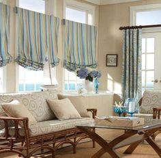 living room window treatments - Google Search