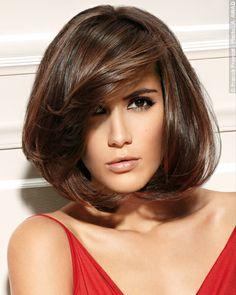 *Invitation parisienne* Mutine asymétrie pour ce carré chicissime.Franck Provost  #franckprovost #collection #invitationparisienne #paris #cheveux #hair #cut #girl #chic #glamour #parisienne #couleurprecieuse #bruncashmere