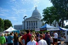 Madison Farmers Market, Madison WI
