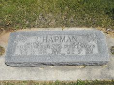George Watson Chapman (1853 - 1936) - Find A Grave Photos  Martha Thacheray