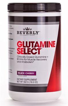 Glutamine Select - Beverly International Plus BCAAs