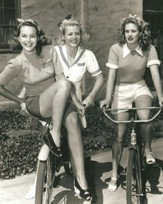 1940's I forget they wore short shorts back then. Style really does just recycle itself.
