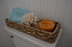 CHIC COASTAL LIVING: My Guest Bathroom Make-Over
